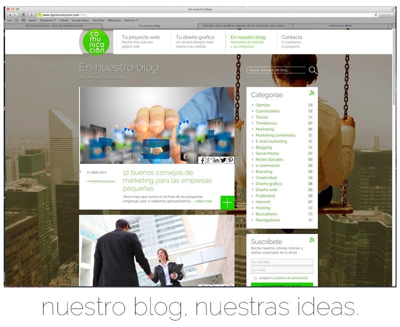 Blog de DG Comunicación