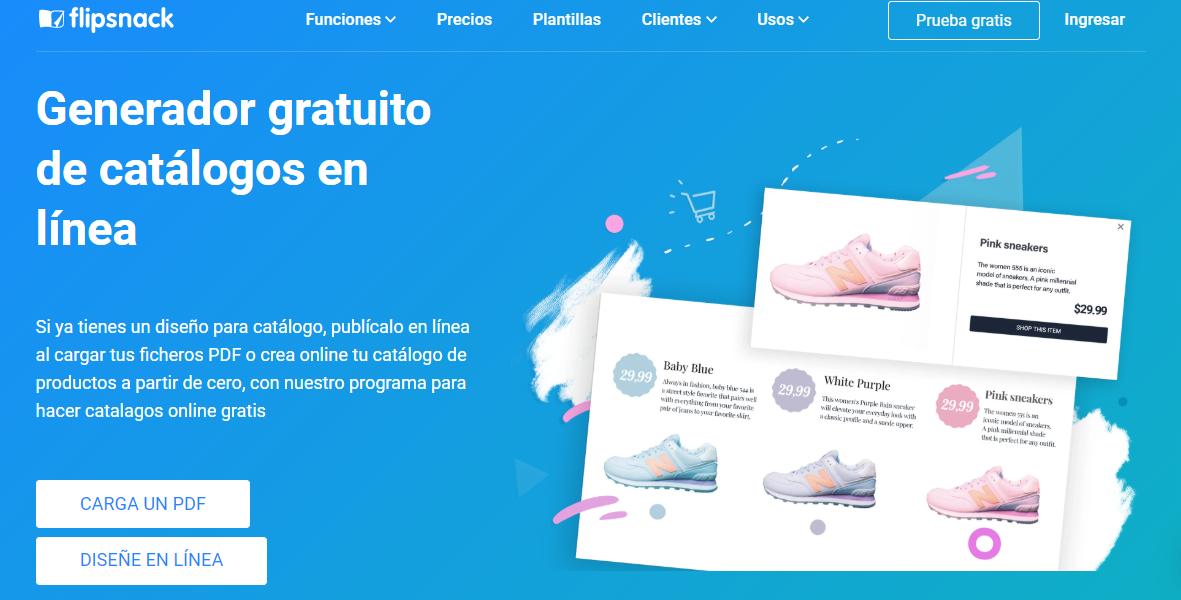 crear tu pdf catálogo