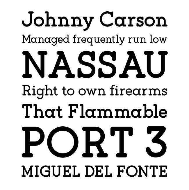 flagship tipografías