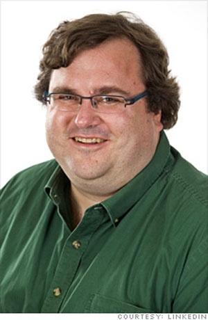 Reid hoffman fundador de Linkedin
