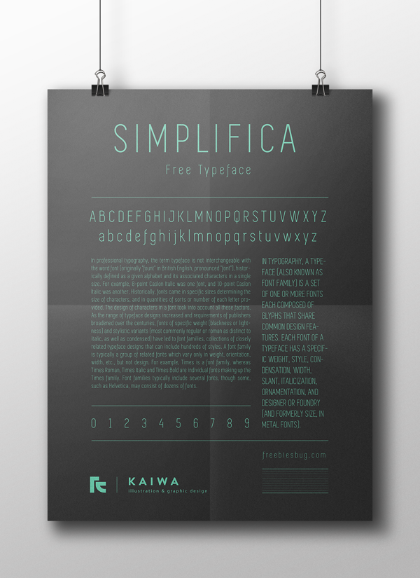 simplifica fuente