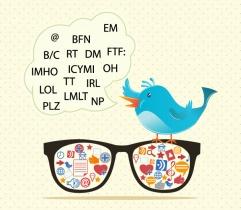 abreviaturas básicas de Twitter