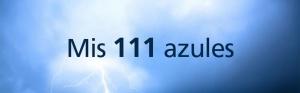 111 azules
