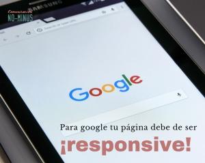 Google no quiere las webs que no son responsive