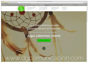 estrenamos web en DG Comunicación