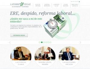 El prestigioso despacho de auditores, Latorre y Vegas, estrena web