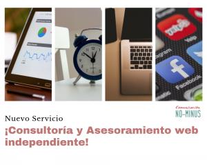 Nuevo servicio de Consultoría y Asesoramiento web totalmente independiente