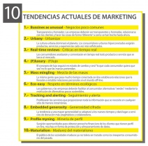 Las últimas 10 tendencias actuales de marketing