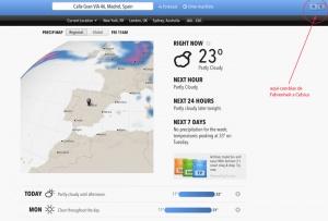 consultar el clima a nivel mundial