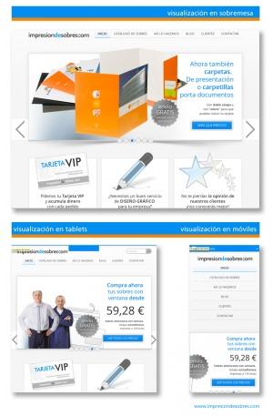 visualizaciones responsive web