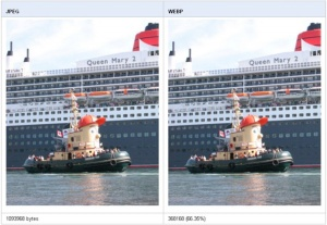 WebP: El formato de imagen creado por Google. Nuevo formato de imagen